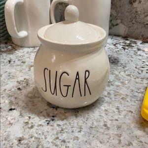 Rae Dunn sugar canister
